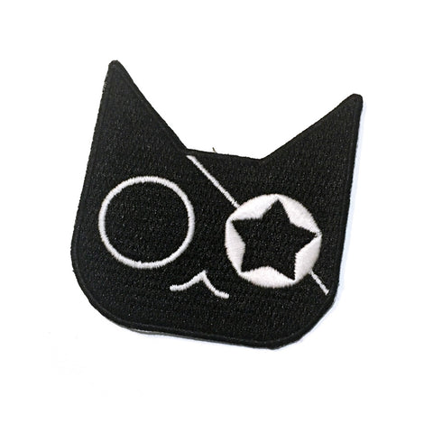 Glow Pirate Cat Patch - Sticker or Iron On! - Gold Crow Co.