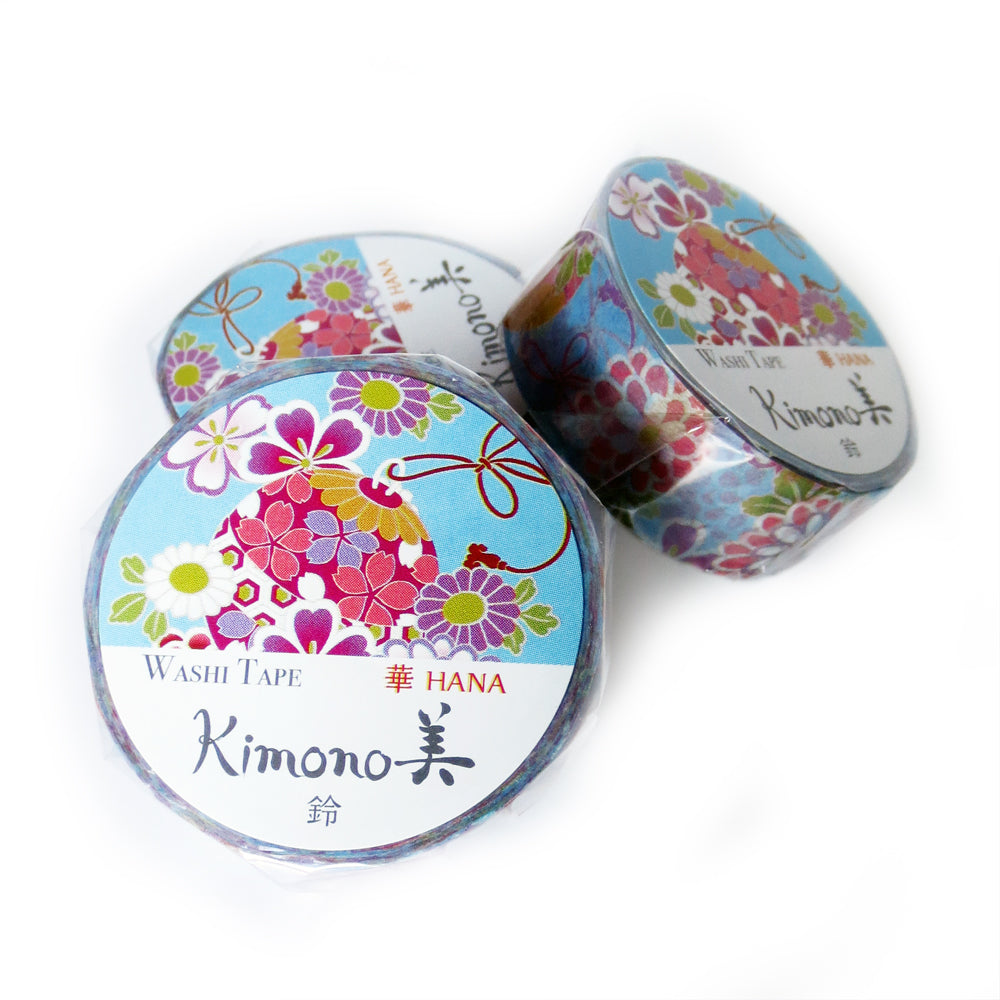 Temari Kimono Washi Tape - Gold Crow Co.