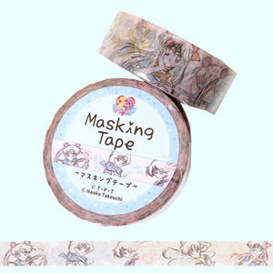 Sailor Moon Inner Scouts Washi Tape - Gold Crow Co.