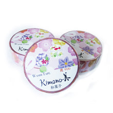 Japanese Sweets Kimono Washi Tape - Gold Crow Co.