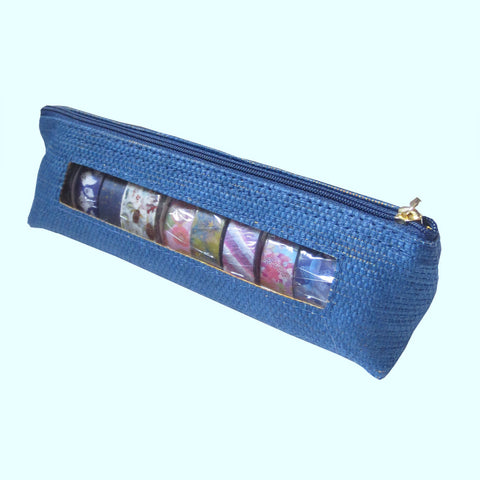 Navy Washi Tape Case - Gold Crow Co.