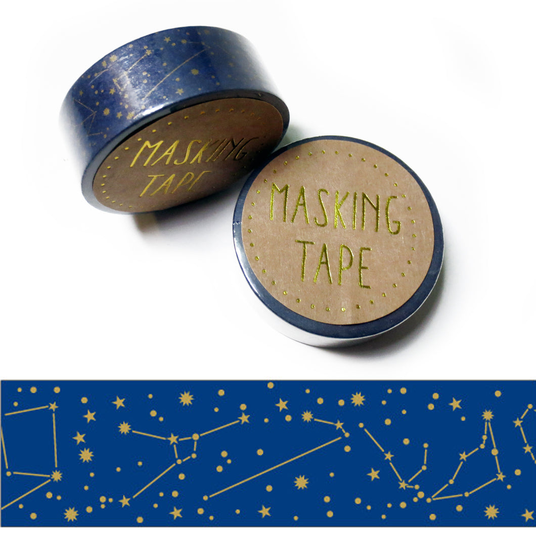 Constellation Washi Tape - Gold Crow Co.