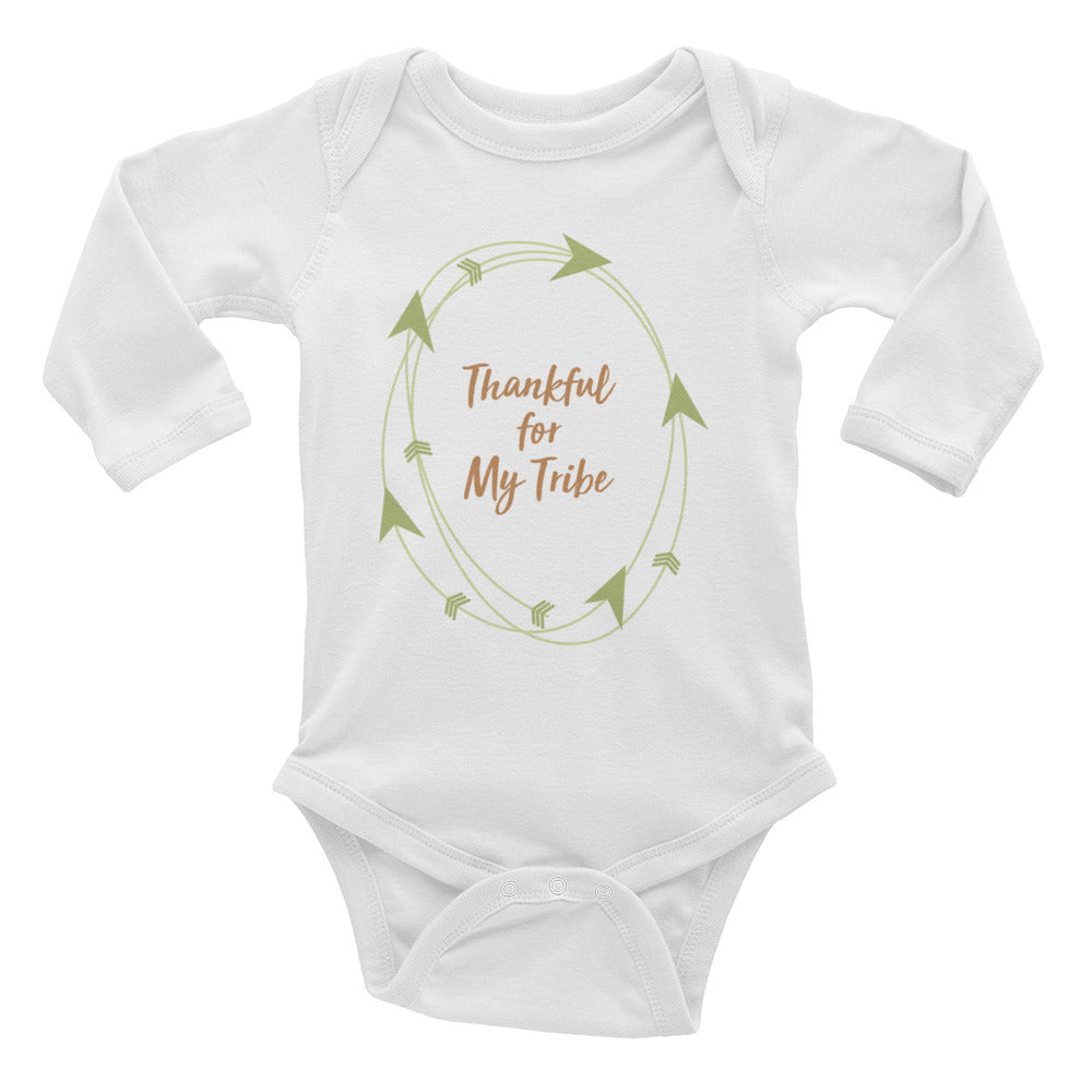 Thankful - Long Sleeve Onesie