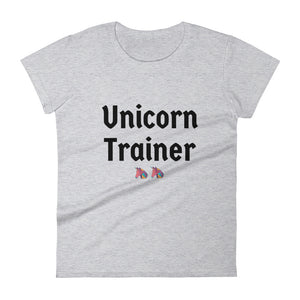 Unicorn Trainer 2 Pink - Women's T-shirt