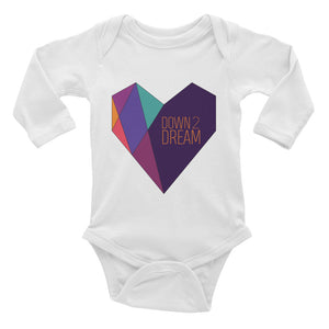 Heart - Long Sleeve Onesie