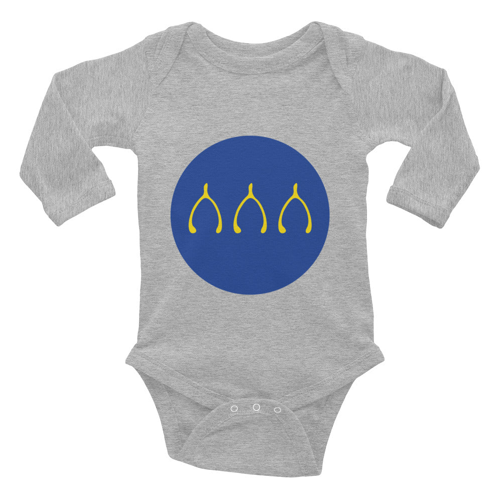 Wishbones - Long Sleeve Onesie
