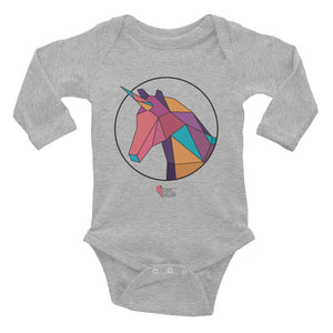 Unicorn - Long Sleeve Onesie