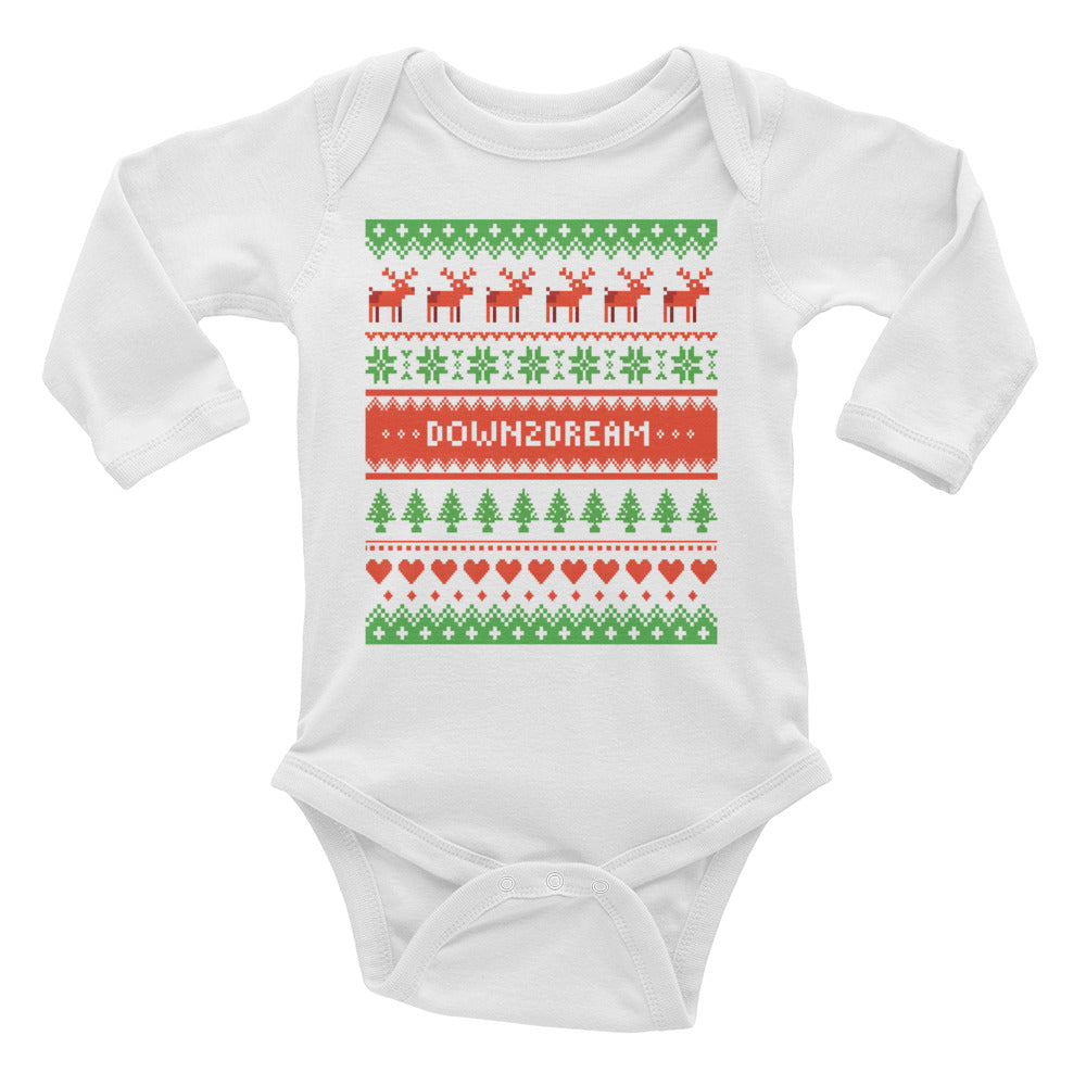 Happy Holidays  - Long Sleeve Onesie