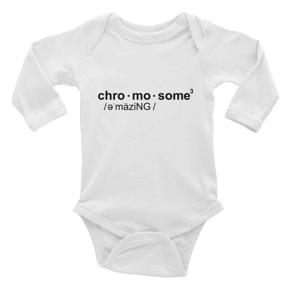 CHRO•MO•SOME - Long Sleeve Onesie