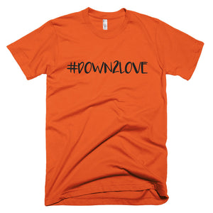 Down2 Love - Unisex / Men's T-shirt