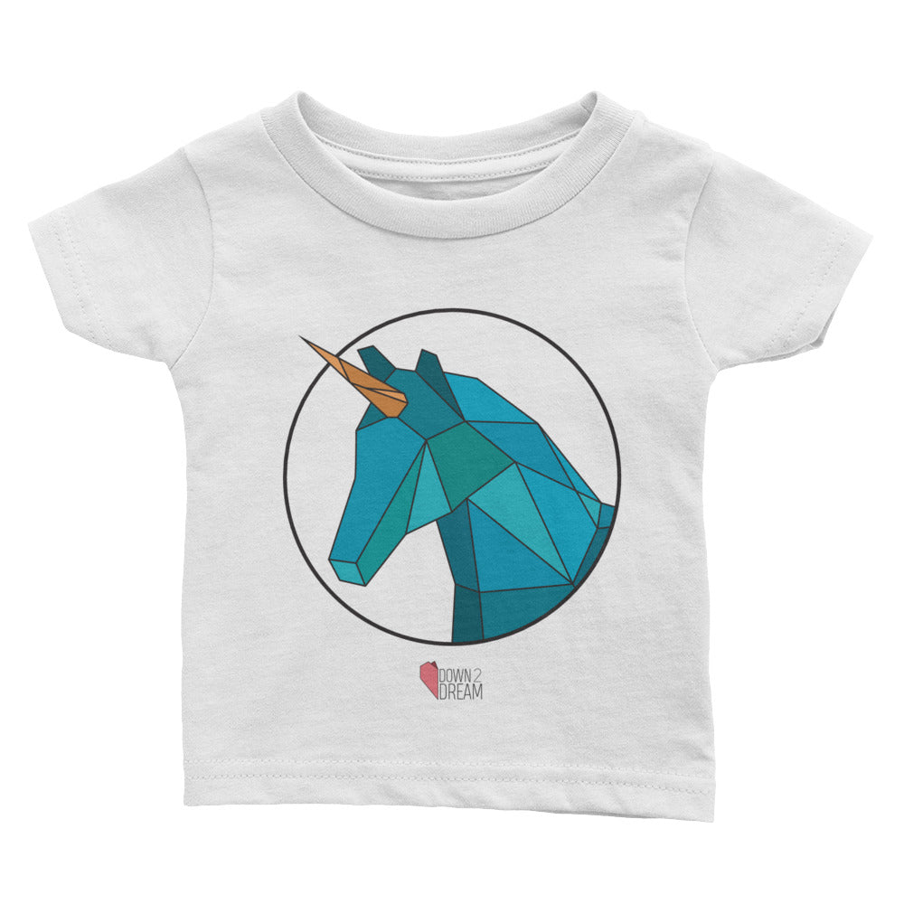 Blue Unicorn - Infant Tee