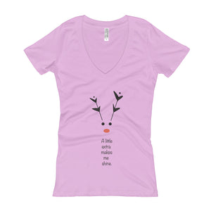 Rudolph - Women's V-Neck T-shirt