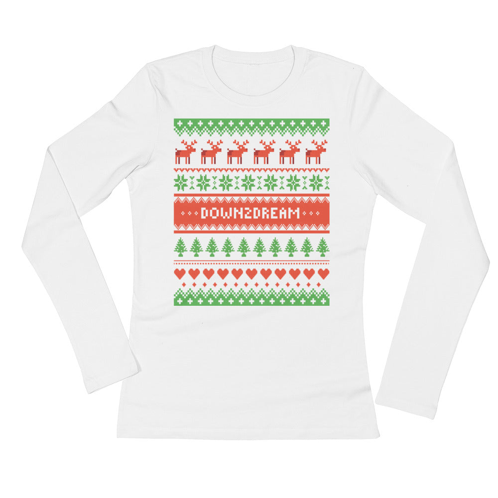 Happy Holidays - Ladies' Long Sleeve T-Shirt