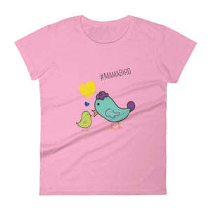 #MamaBird Color - Women's T-shirt
