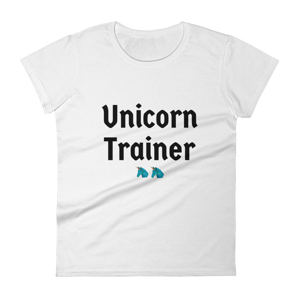 Unicorn Trainer 2 Blue - Women's T-shirt