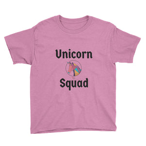 Unicorn Squad Circle - Kids T-Shirt