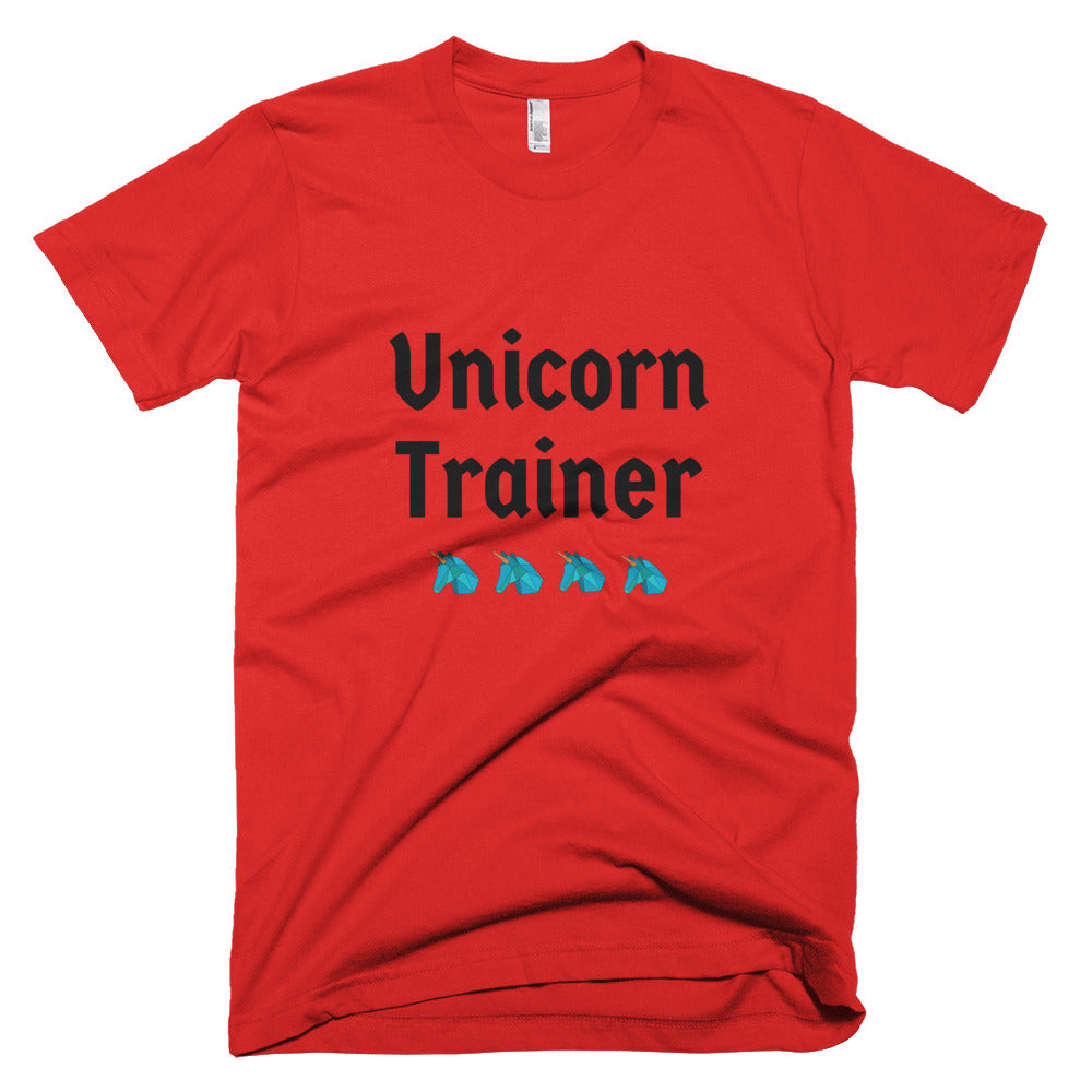 Unicorn Trainer 4 Blue - Unisex T-Shirt