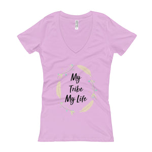 My Tribe - Women's V-Neck T-shirt