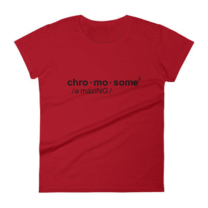 CHRO•MO•SOME - Women's T-shirt
