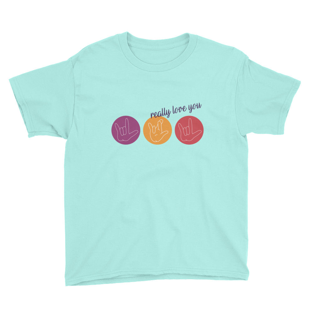 ILY Circles - Kids T-shirt