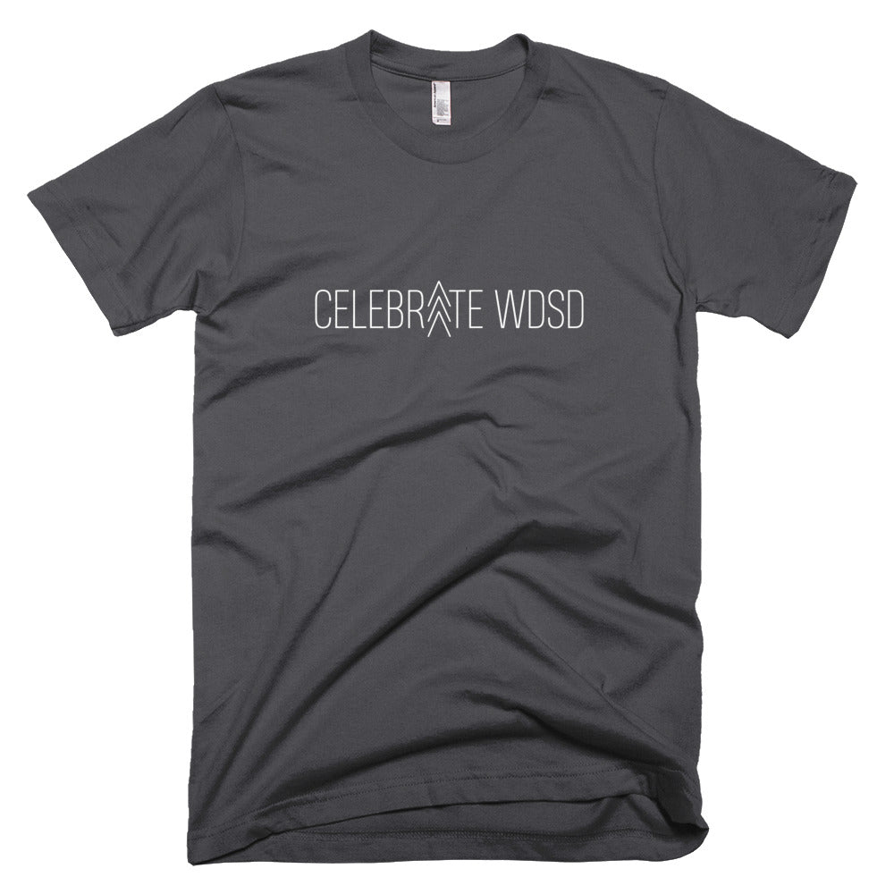 Celebrate WDSD >>> White - Unisex / Men's T-Shirt