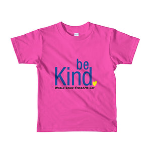 Be Kind WDSD - 2yrs - 6yrs Kids T-shirt