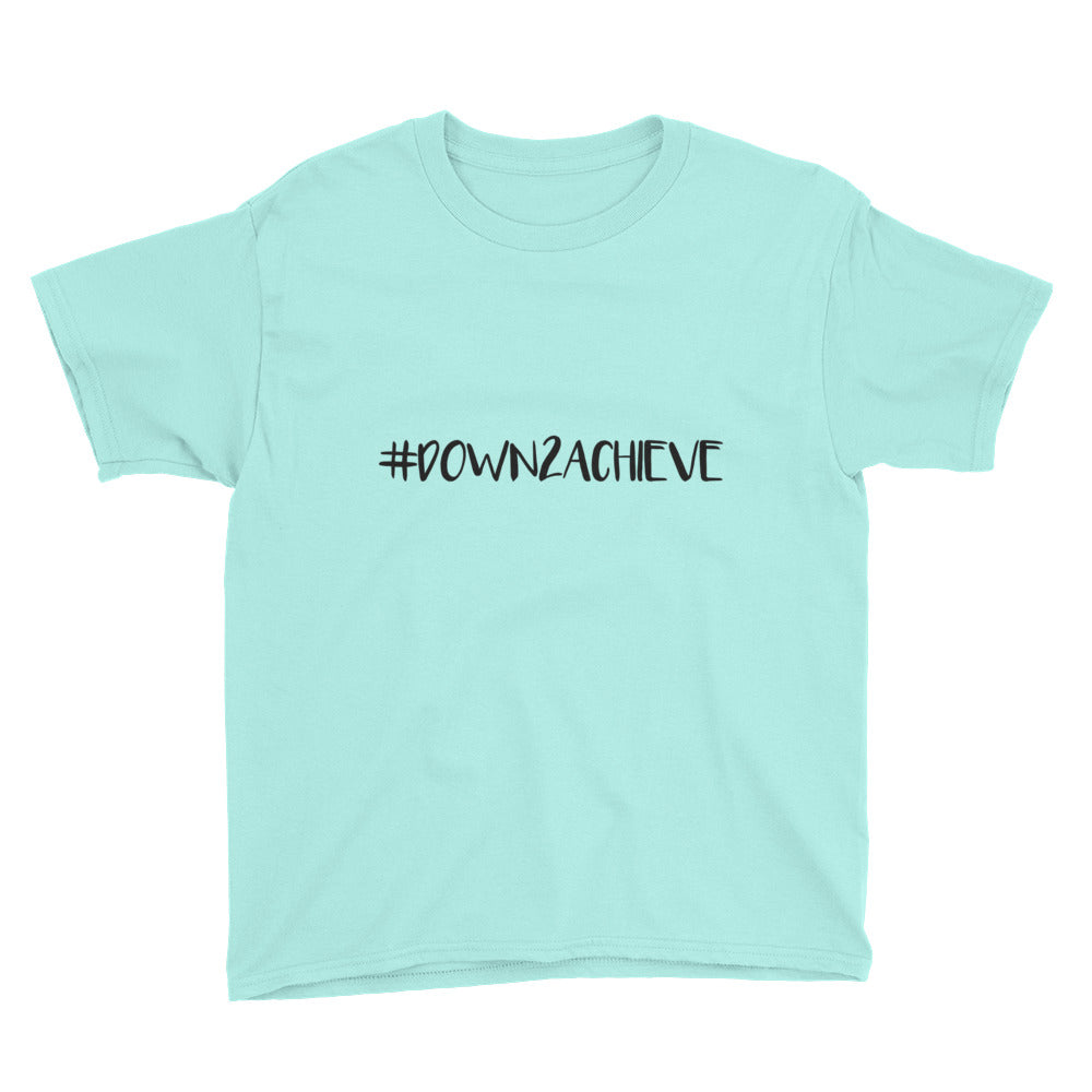 #Down2Achieve - Kids Shirt