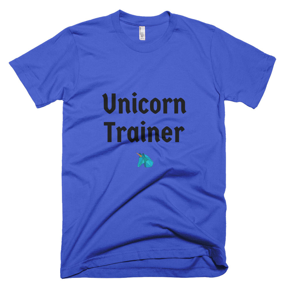 Unicorn Trainer Blue - Unisex T-Shirt