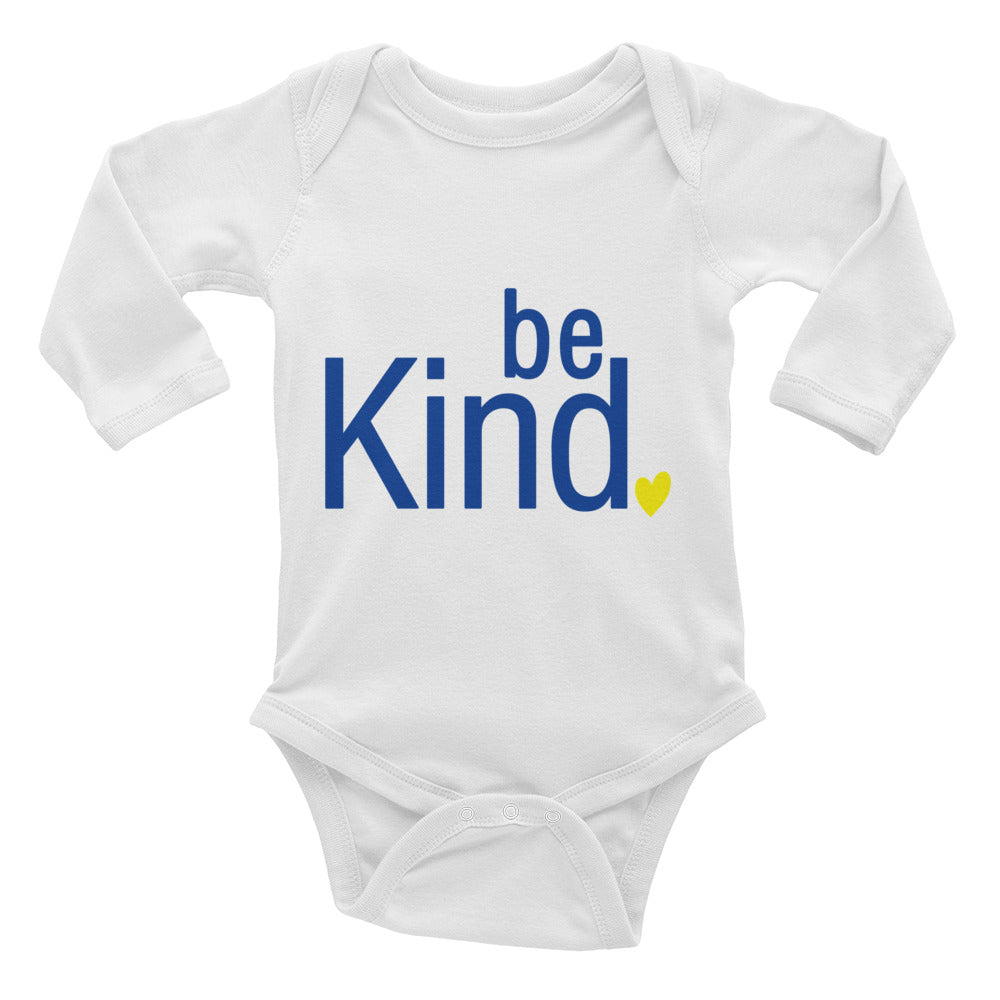 Be Kind - Long Sleeve Onesie