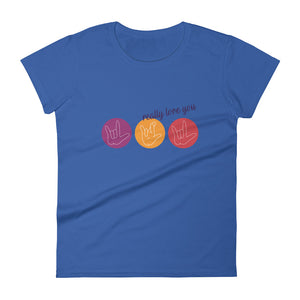 ILY Circles - Women's T-shirt