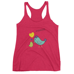 #MamaBird Color - Women's Tank Top