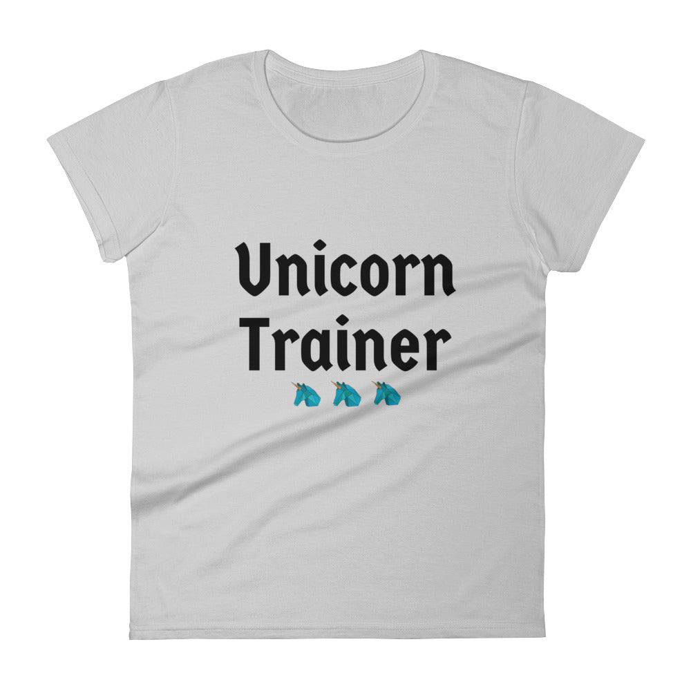 Unicorn Trainer 3 Blue - Women's T-shirt
