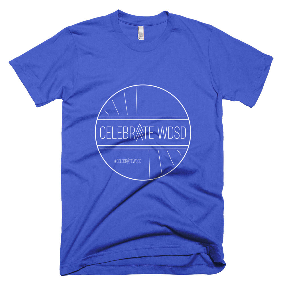 Celebrate WDSD White - Unisex / Men's T-Shirt