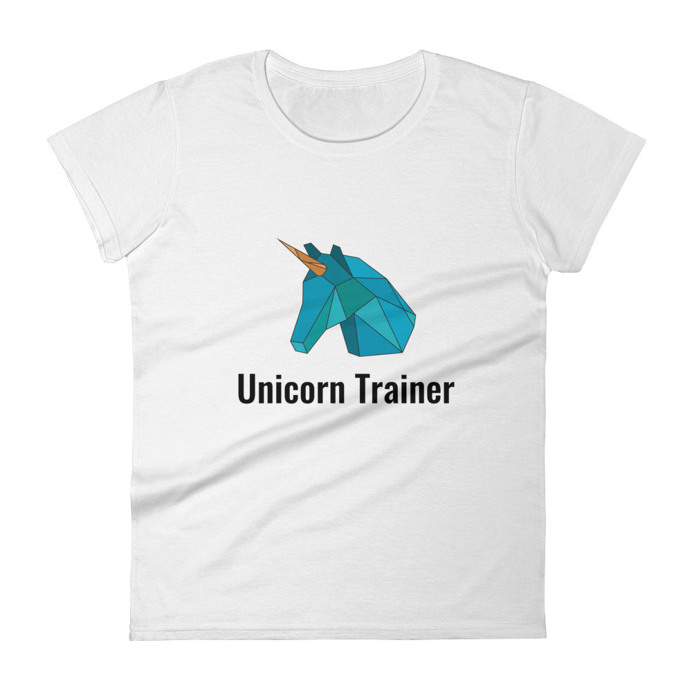 Unicorn Trainer Blue - Women's T-shirt