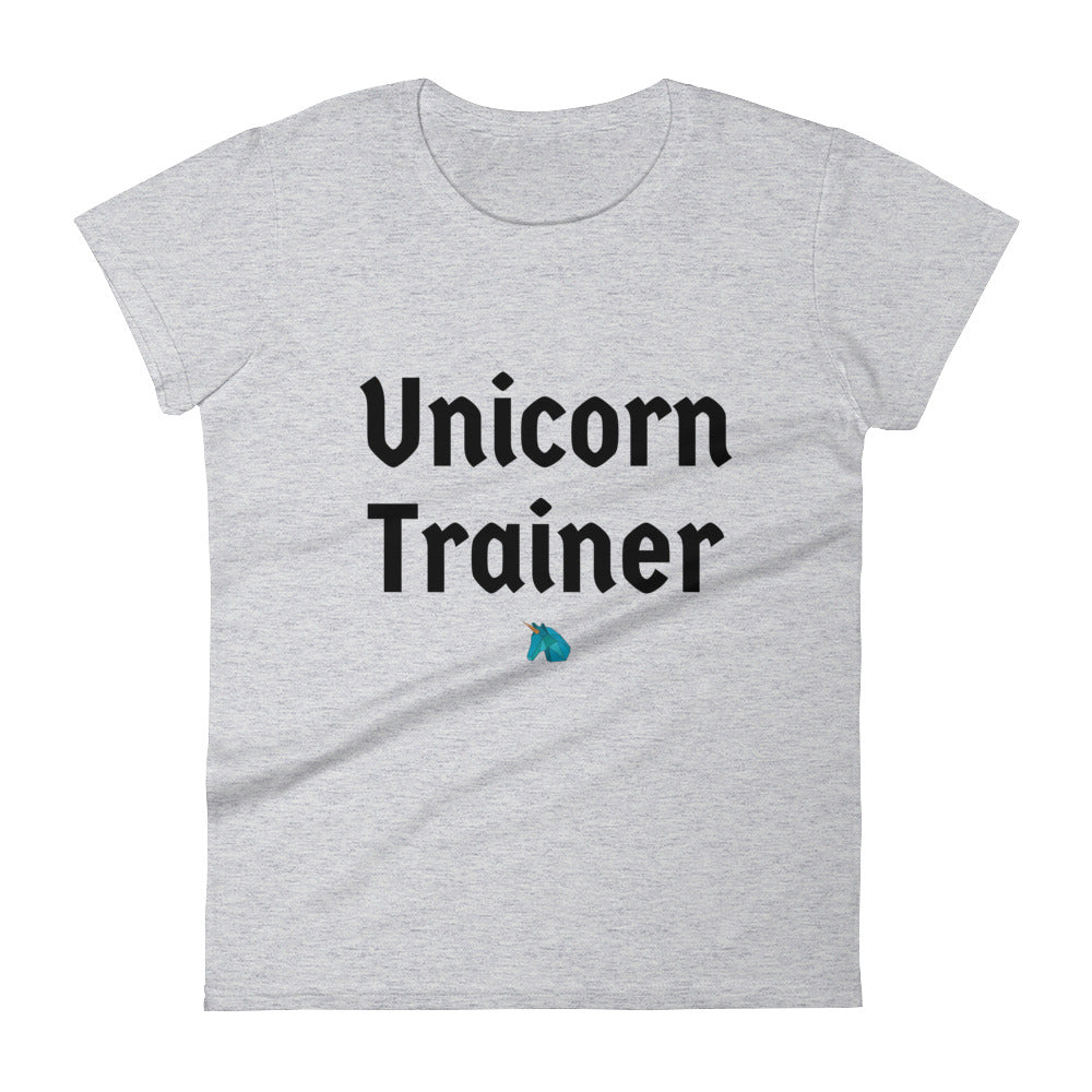 Unicorn Trainer 1 Blue - Women's T-shirt