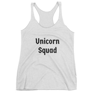 Unicorn Squad Text - Women's Tank Top
