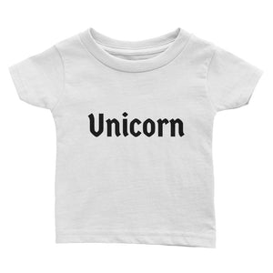 Unicorn Txt - Infant Tee