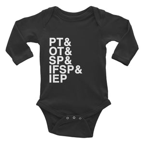 Acronyms - Long Sleeve Onesie