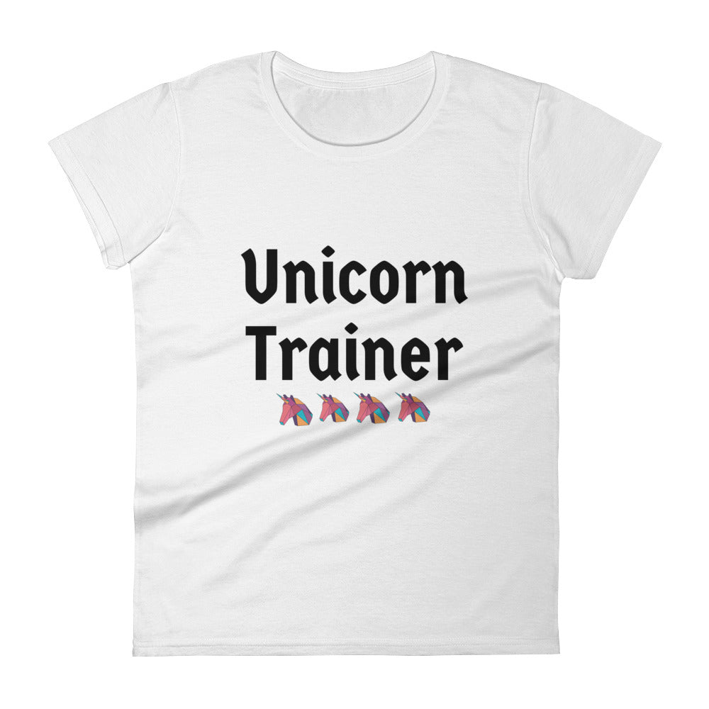 Unicorn Trainer 4 Pink - Women's T-shirt