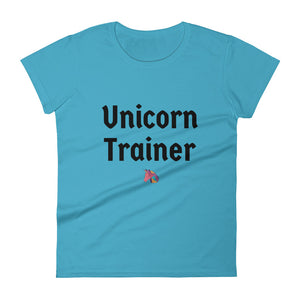 Unicorn Trainer 1 Pink - Women's T-shirt