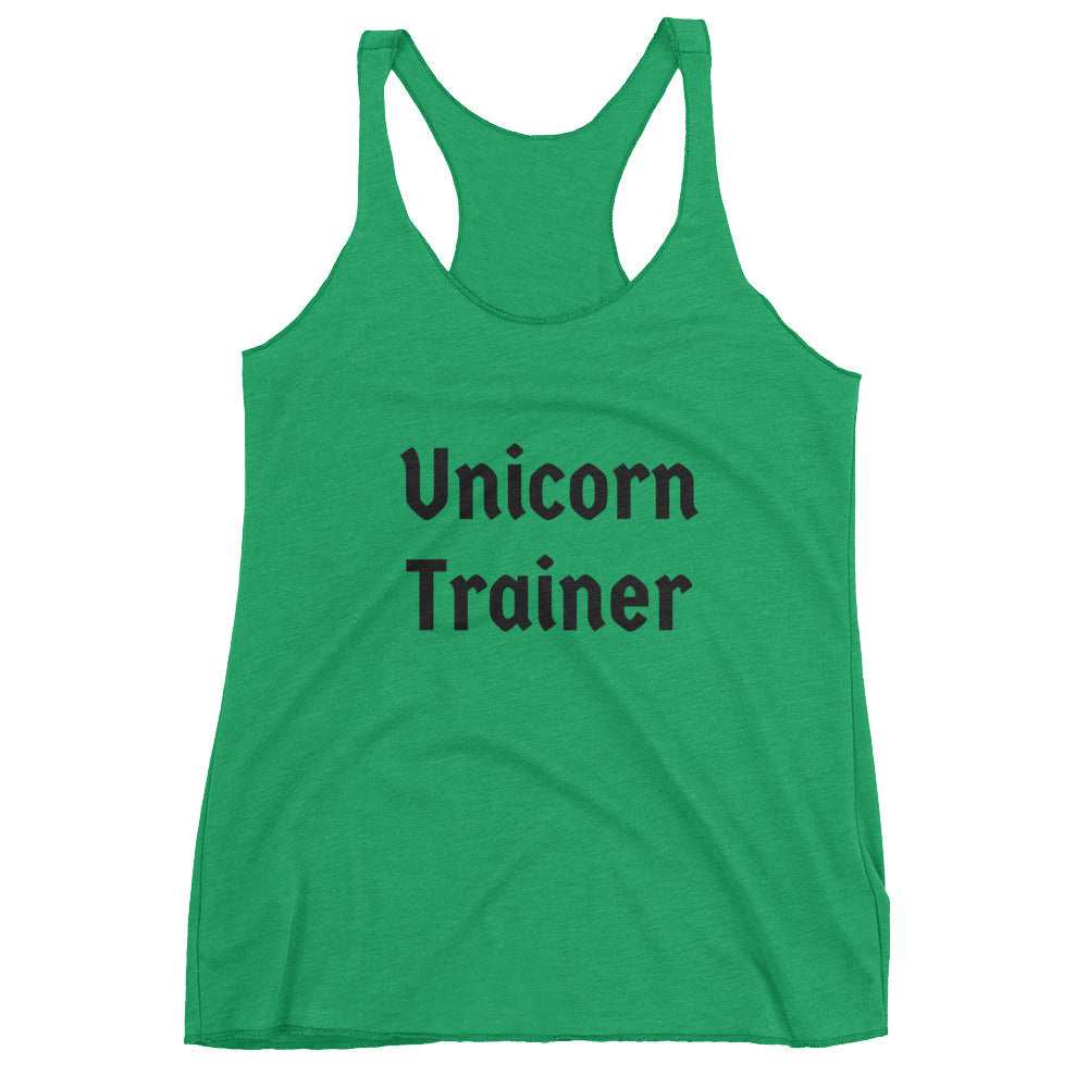 Unicorn Trainer - Women's Tank Top