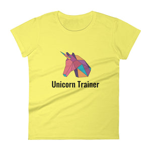Unicorn Trainer Pink - Women's T-shirt