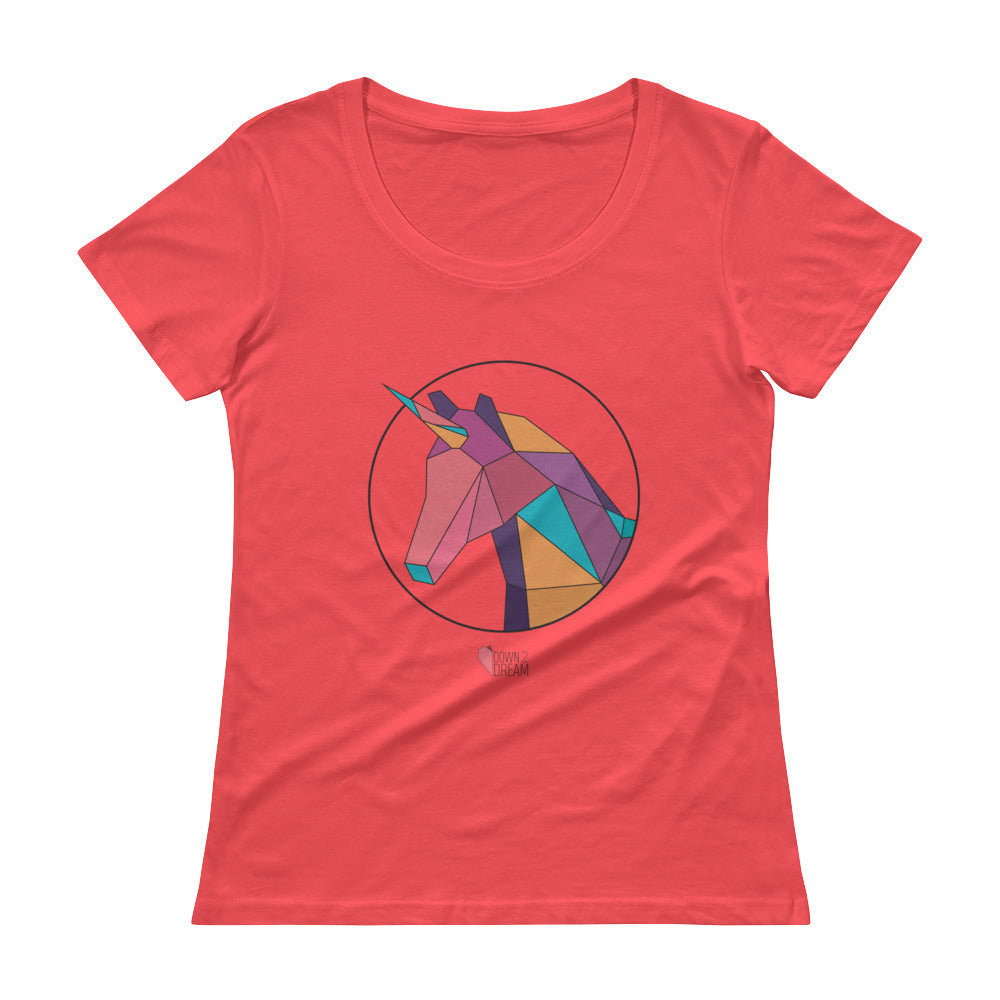 Unicorn - Women's Scoopneck T-Shirt