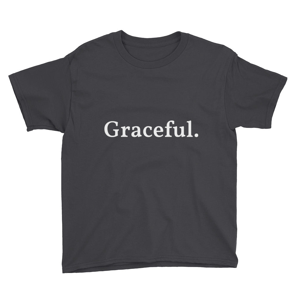 Graceful. - Kids T-Shirt