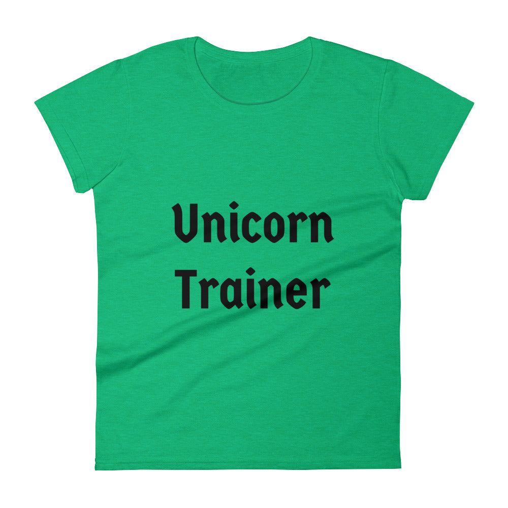 Unicorn Trainer Txt - Women's T-shirt
