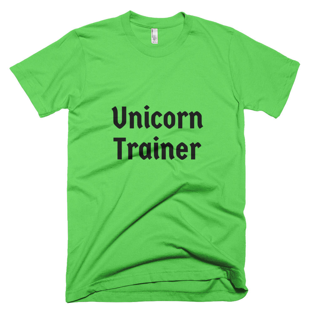 Unicorn Trainer Txt - Unisex T-Shirt