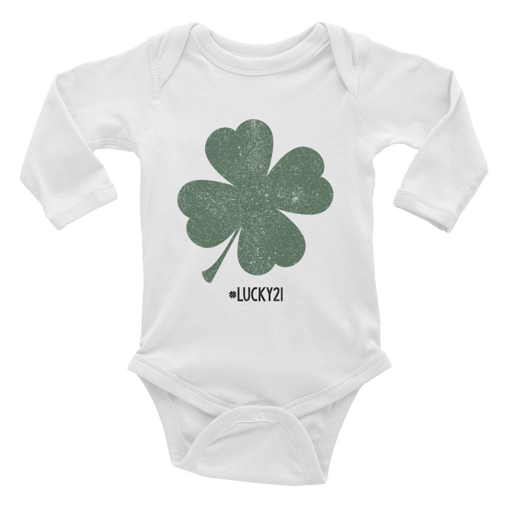 Lucky 21 - Long Sleeve Onesie
