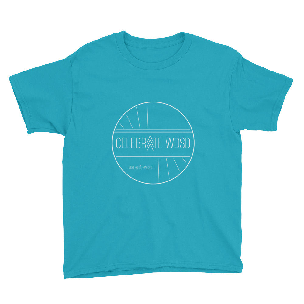 Celebrate WDSD White - Kid's T-Shirt