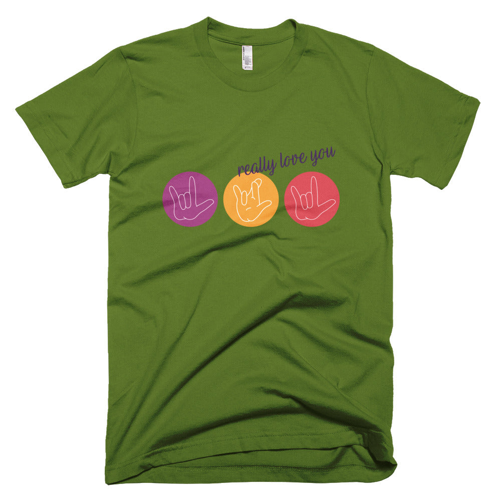 ILY Circles - Unisex / Men's T-shirt