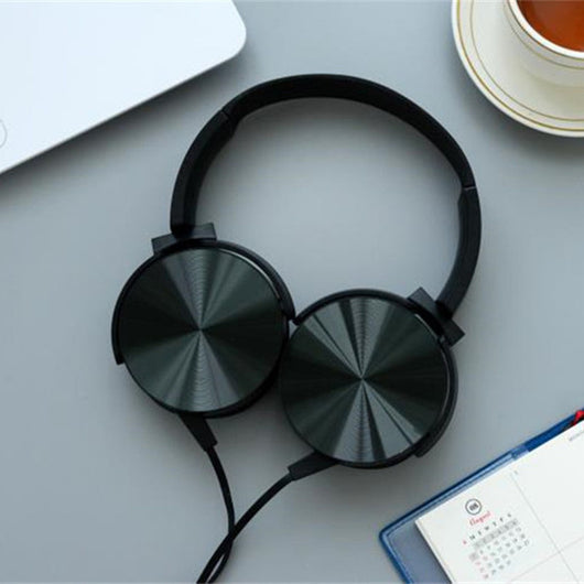 Luxury Headphones with Microphone